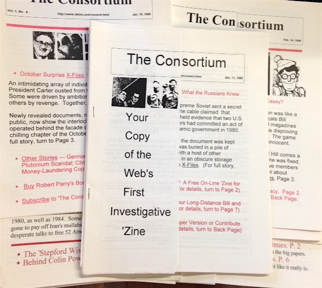 The Consortium for Independent Journalism [29 issues]