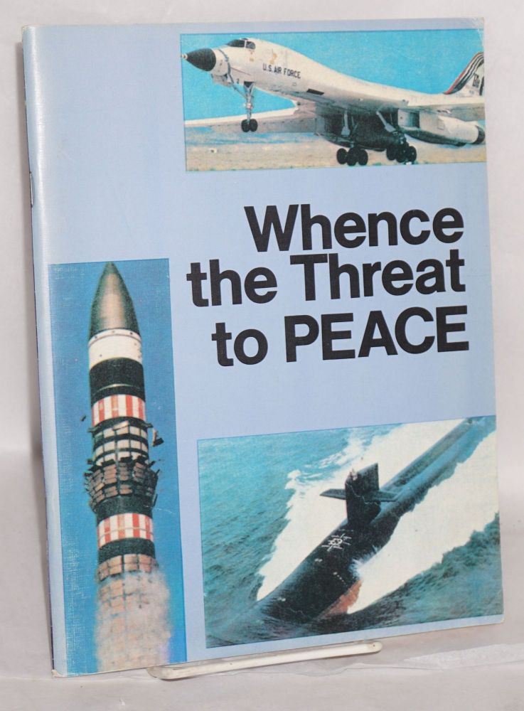 Whence the threat to peace