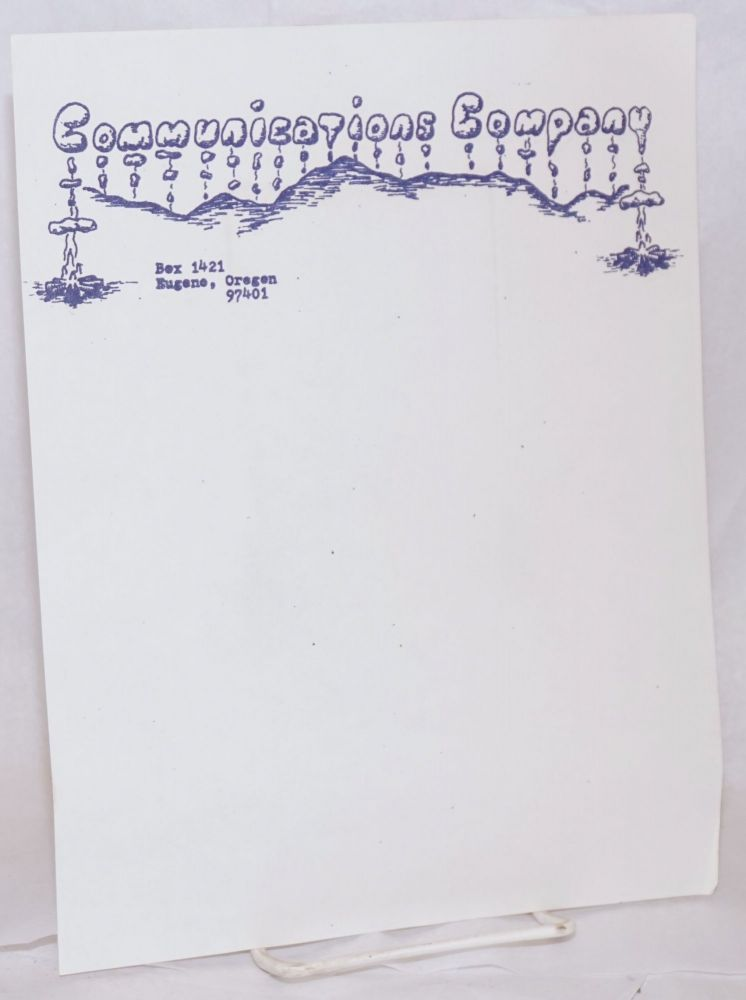 Communications Company [letterhead]