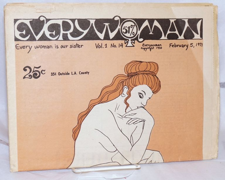 Everywoman: everywoman is our sister vol. 1, #14 February 5, 1971