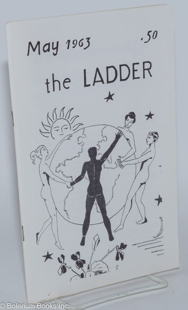 The Ladder: vol. 7, #8 May 1963. Barbara Gittings, Gene Damon, Barbara Grier.