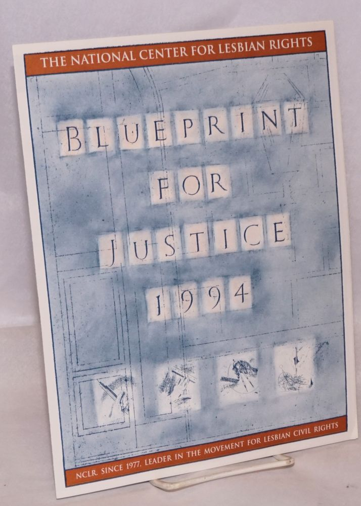 Blueprint for Justice 1994
