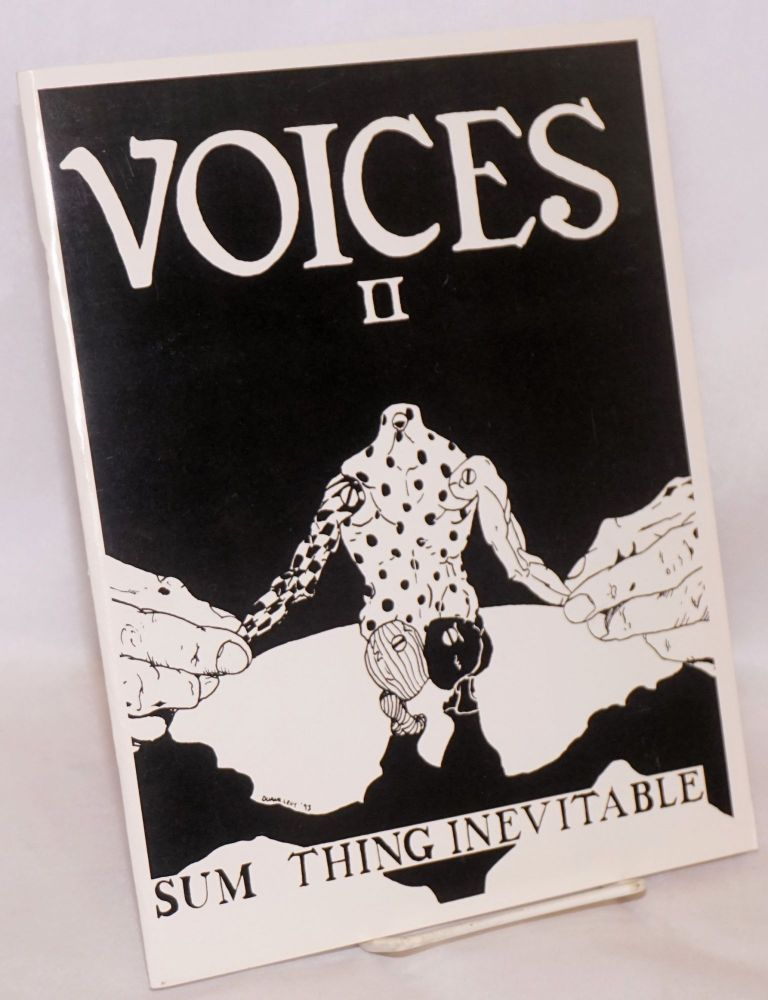 Voices II: Sum thing inevitable. An anthology of writings by people of mixed descent.