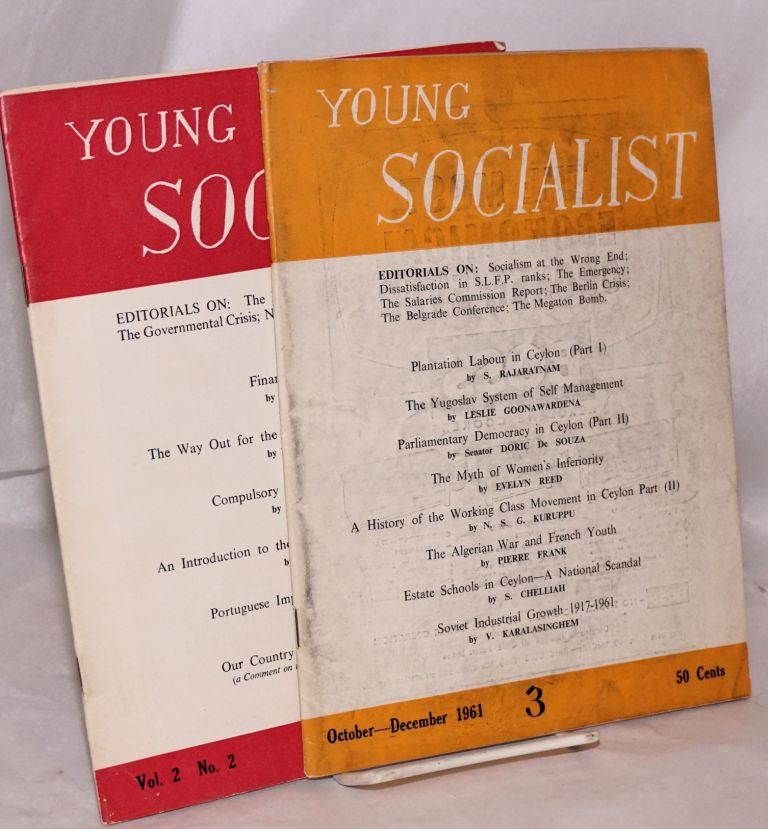 Young socialist [two issues: nos. 3 and 7]