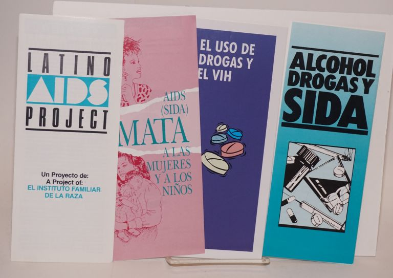 Four Spanish-language AIDS brochures