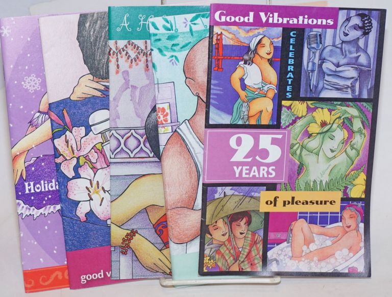 Good Vibrations Catalogues [5 issues]
