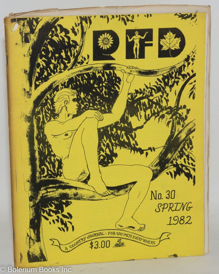 RFD: a country journal for gay men everywhere; #30 Spring 1982