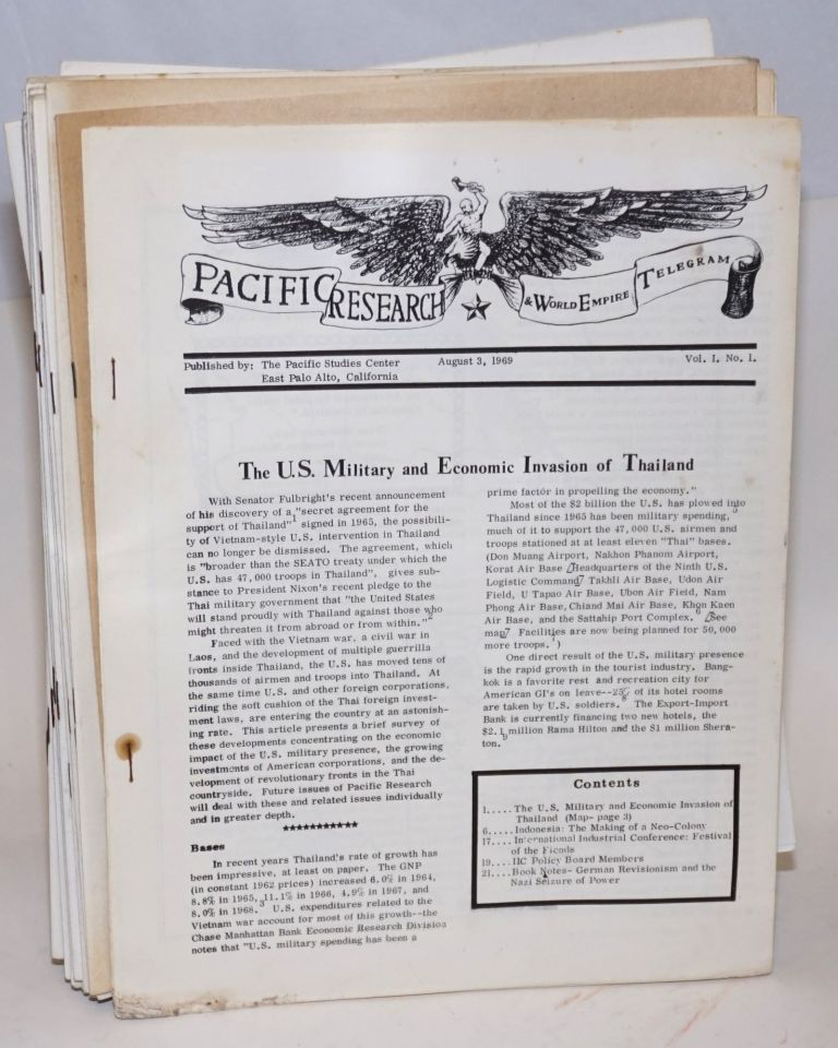 Pacific Research and World Empire Telegram [26 issues]