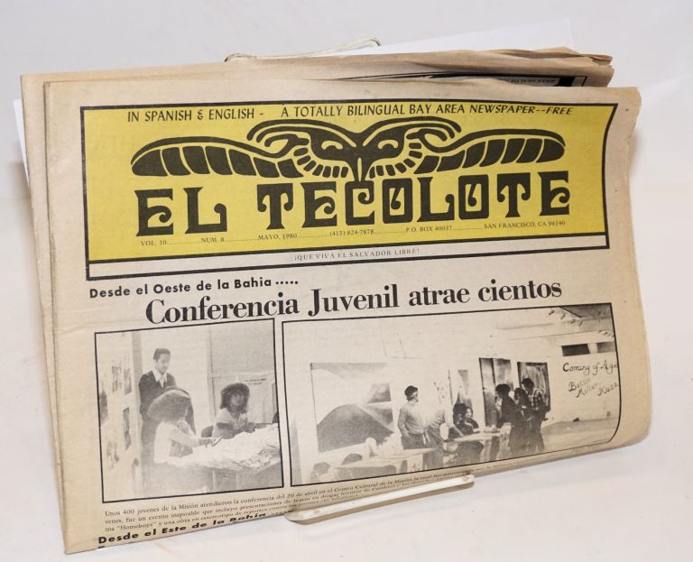 El Tecolote: in Spanish and English - a totally bilingual Bay Area  newspaper