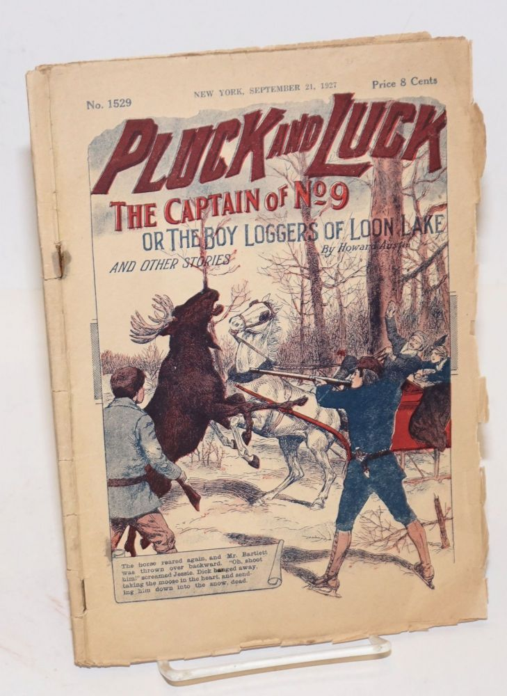 Pluck and Luck. Sandy and Slim, or The Boy Detectives of Caliphat, and Other Stories. December 14, 1927. Howard Austin.