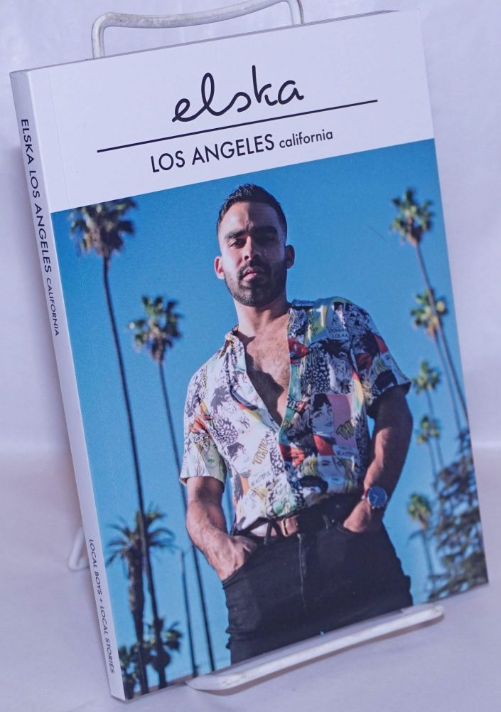 Elska magazine issue (18) Los Angeles, California; local boys + local stories. Liam Campbell, and photographer.