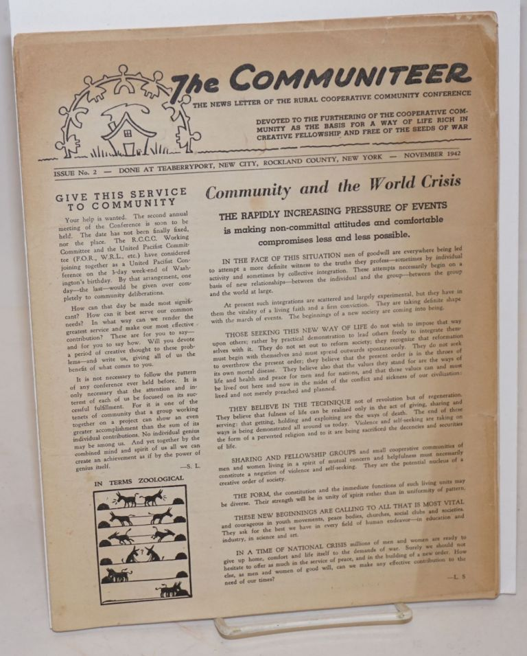 The Communiteer [Issues 2 and 4]