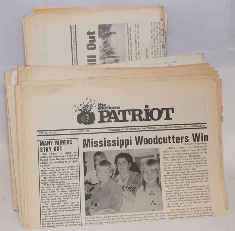 The Southern Patriot [45 issues]. Southern Conference Educational Fund.