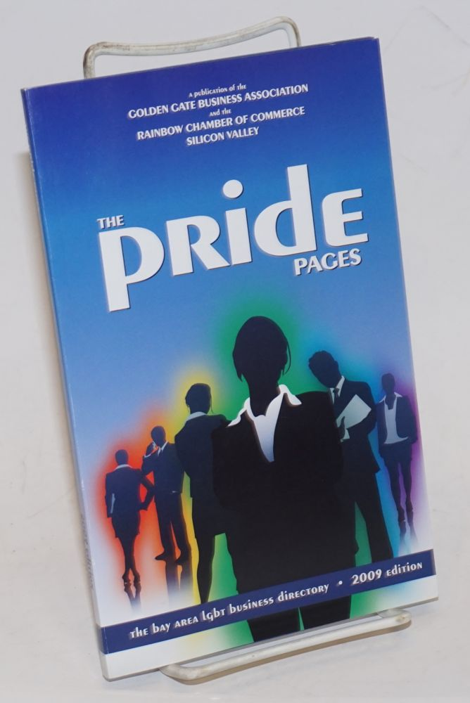 The GGBA Pride Pages 2009 edition the Bay Area LGBT business directory