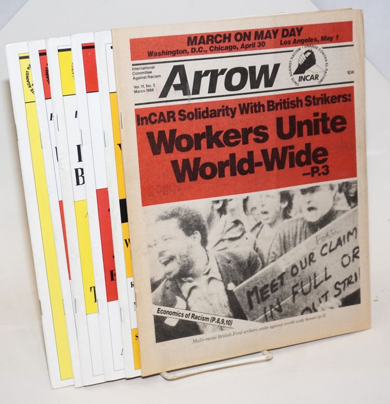 Arrow [seven issues]. International Committee Against Racism.