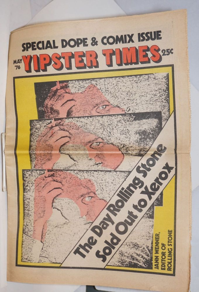 Yipster Times. May, 1976, vol. 4, no. 4 Special dope & comix issue