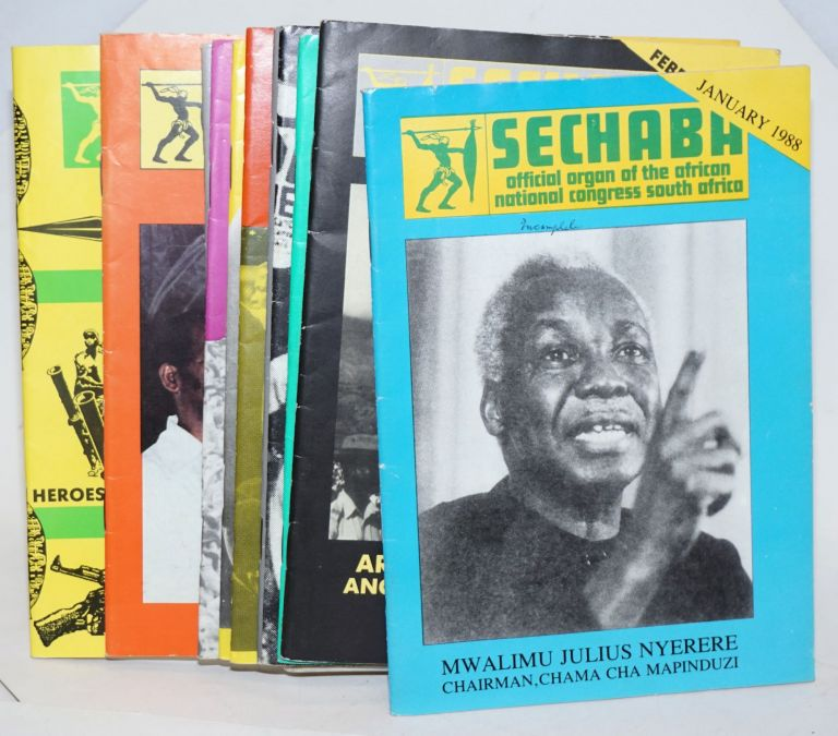 Sechaba [12 issues of the magazine] official organ of the African National Congress South Africa