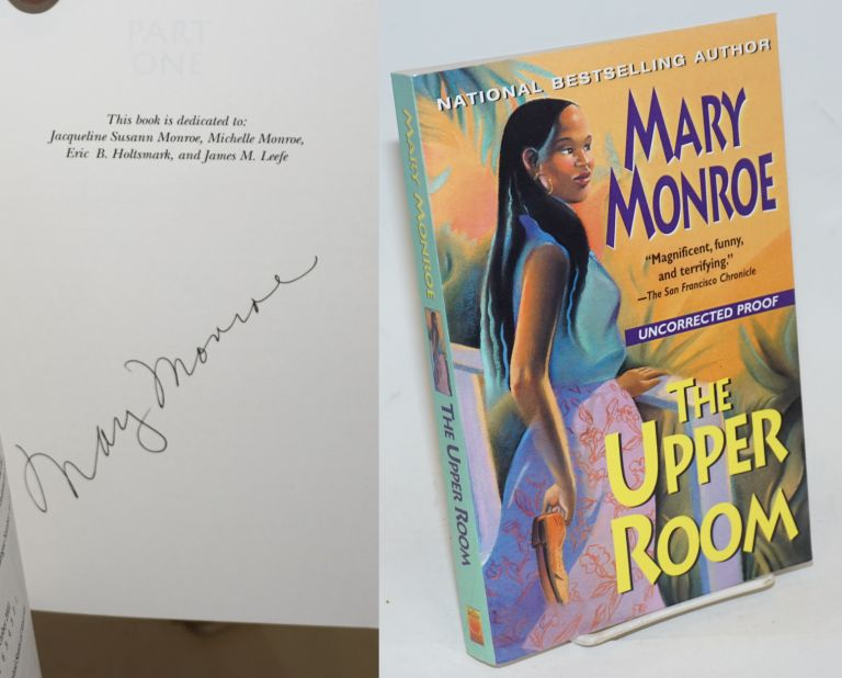 The Upper Room [signed uncorrected proof/ARC]. Mary Monroe.