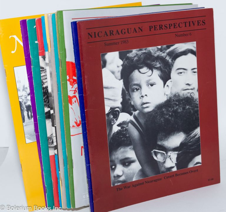 Nicaraguan Perspectives [12 issues of the magazine]. Jim Eitel, contributing ed.