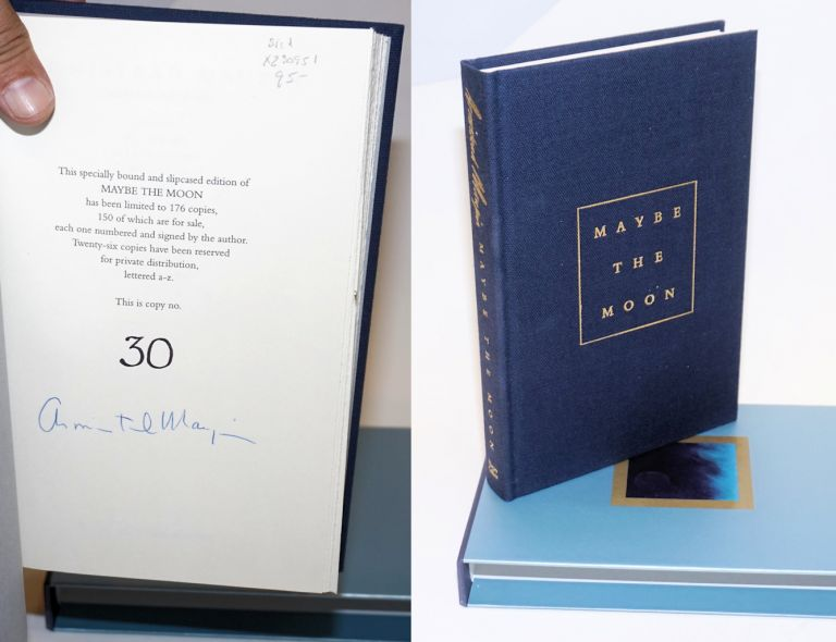 Maybe the Moon a novel [signed limited slipcase edition]. Armistead Maupin.