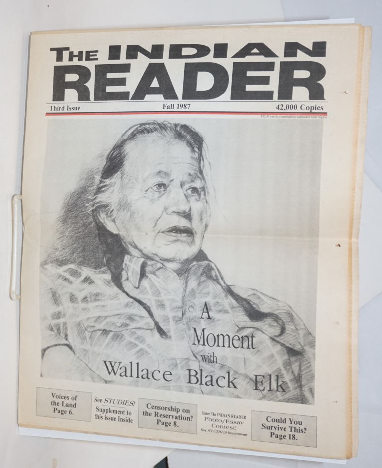 The Indian reader. Third issue (Fall 1987)