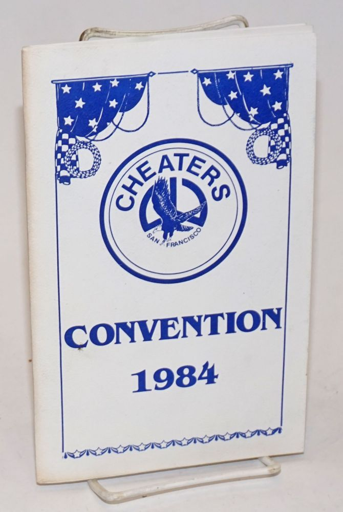 Cheaters San Francisco Convention 1984 [program]