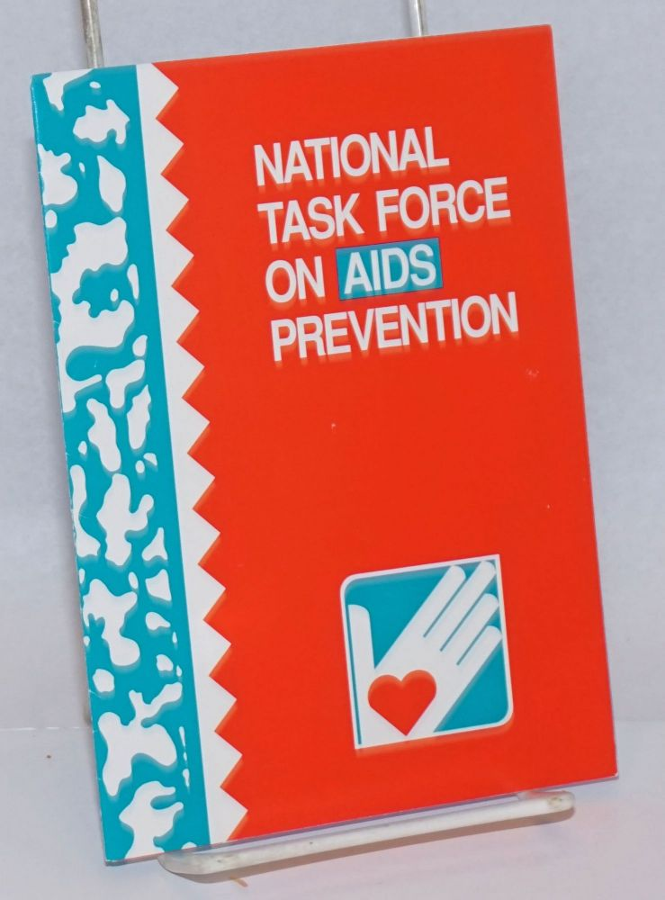 National Task Force on AIDS Prevention [brochure]