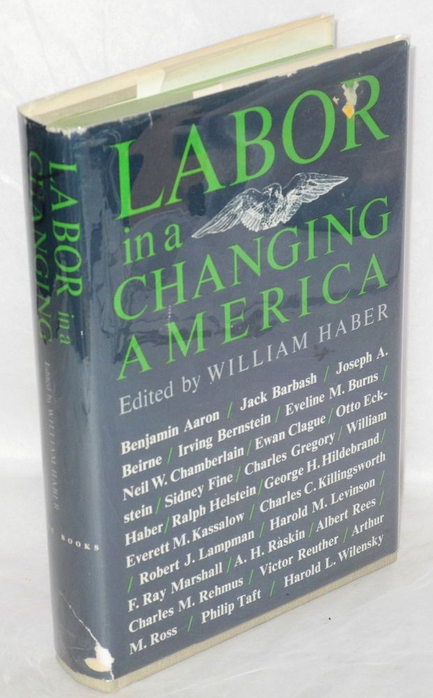 Labor in a changing America. William Haber, ed.