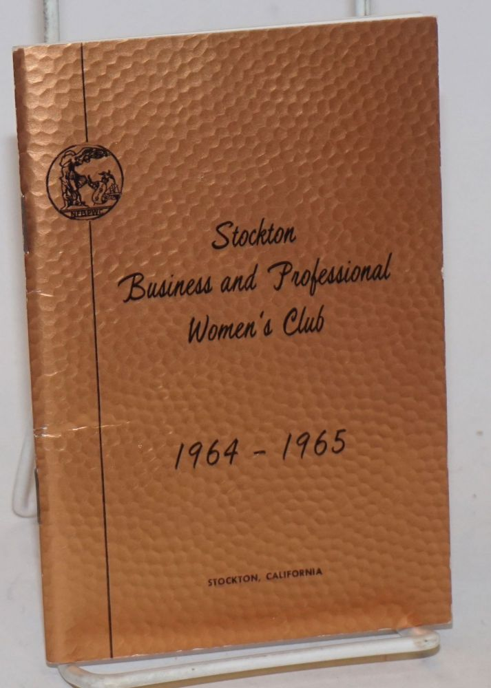 Stockton Business and Professional Women's Club. Club directory, 1964-1965