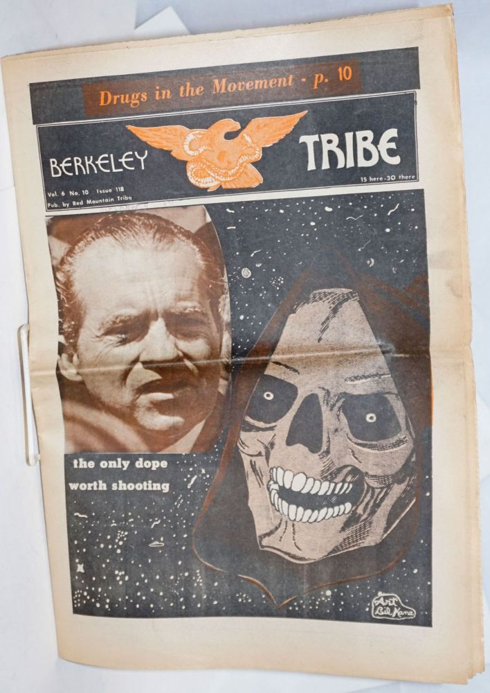 "Berkeley Tribe, Vol. 6, No. ""10"" (#118) Oct. 29-Nov.4, 1971. Red Mountain Tribe."