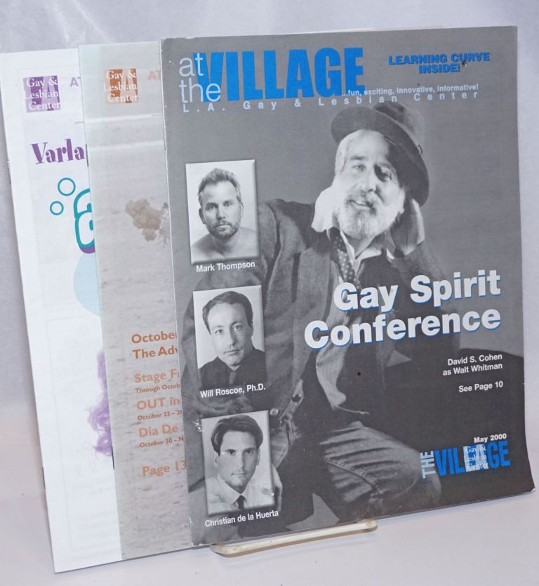 At the Village at Ed Gould Plaza: L.A. Gay & Lesbian Center [3 issues]