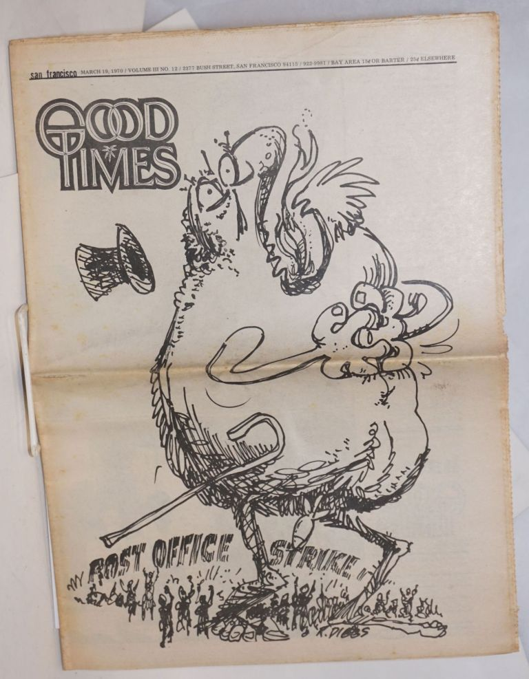 San Francisco Good Times; Vol.3, no.12, Mar. 19, 1970