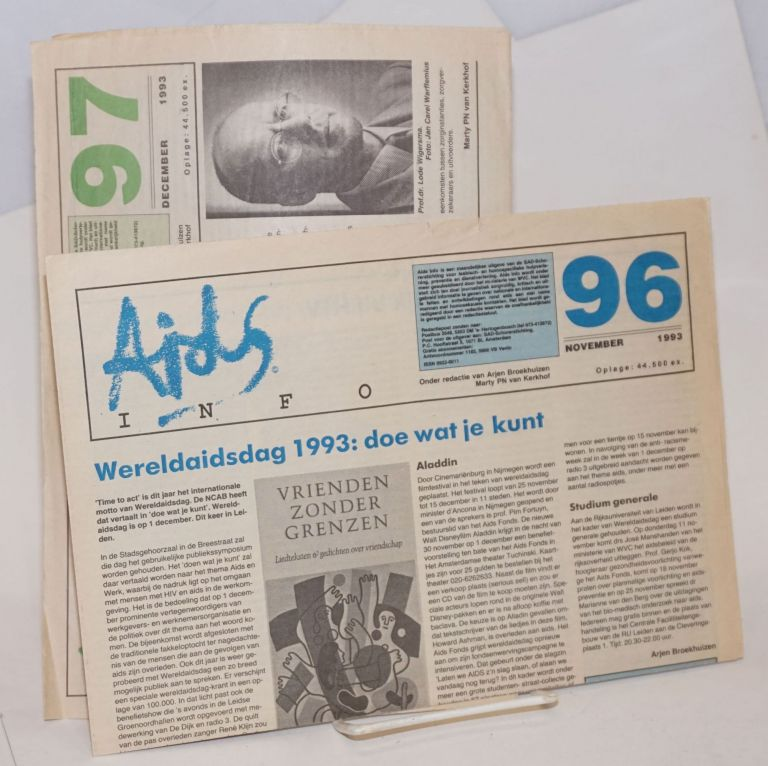 AIDS Info: #96 & 97, November & December 1993 [two issues]
