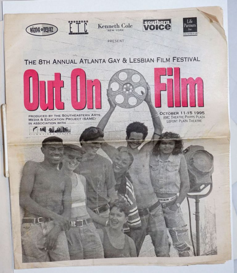 The 8th Annual Atlanta Gay & Lesbian Film Festival: Out on Film October 11-15 1995, AMC Theatre, Phipps Plaza, Lefont Plaza Theatre