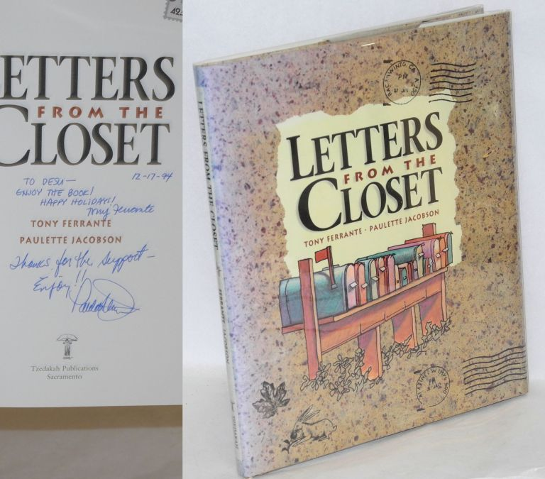 Letters from the closet. Tony Ferrante, Paulette Jacobson.