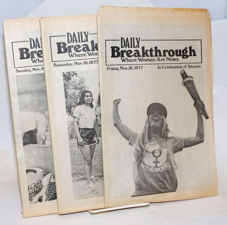 Daily Breakthrough [all three issues]