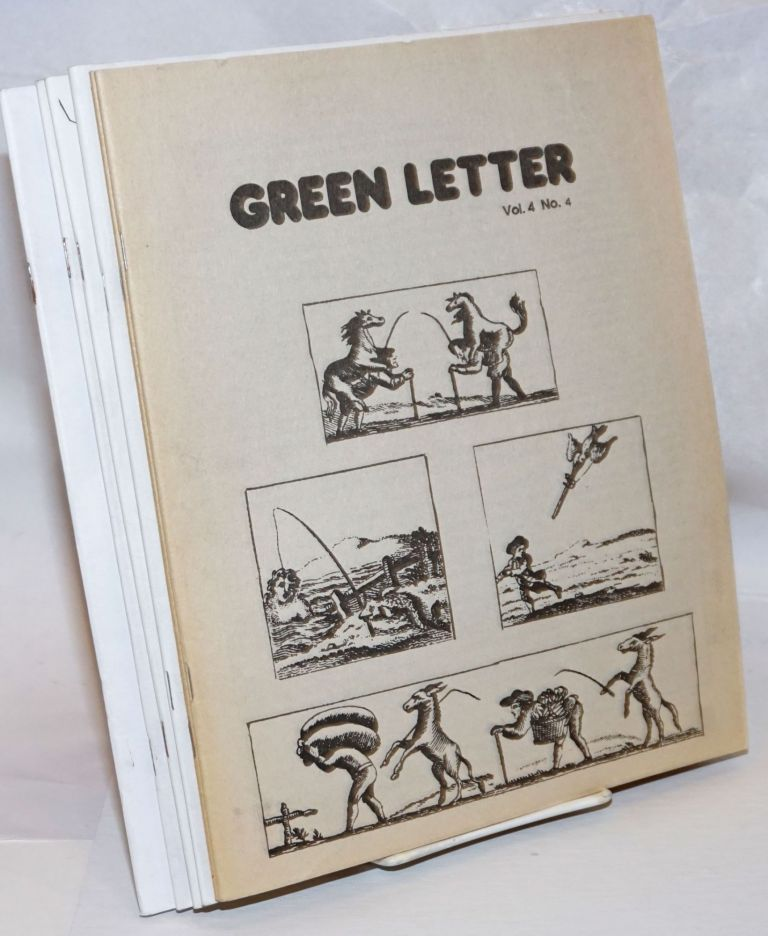 Green Letter [continuing as Ground Work; six issues]