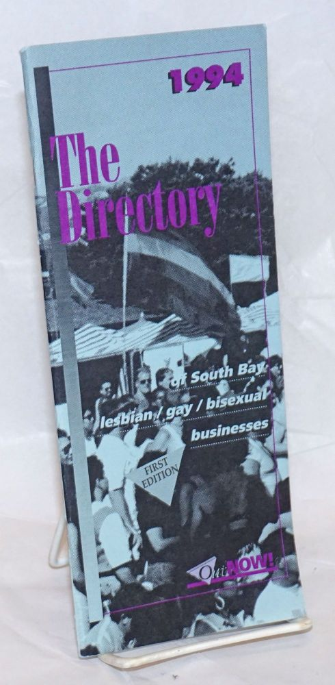 The Directory of South Bay gay/lesbian/bisexual businesses #1, Winter 1993-94