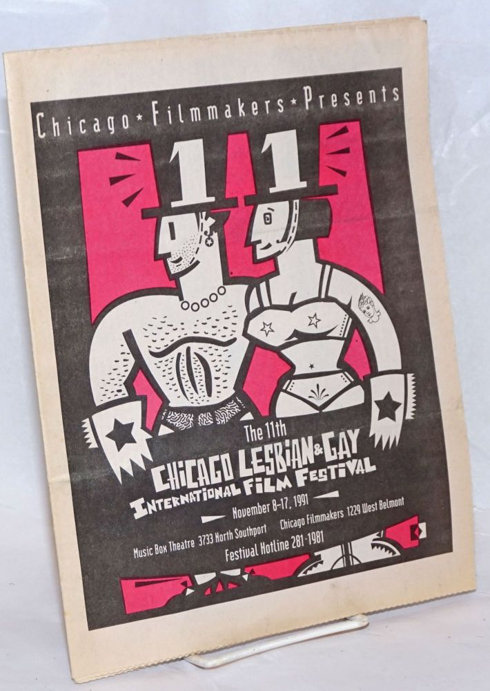 Chicago Filmmakers presents the 11th Chicago Lesbian & Gay International Film Festival November 8-17, 1991