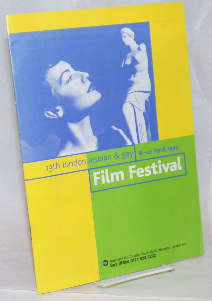 13th London Lesbian & Gay Film festival 8-22 April 1999