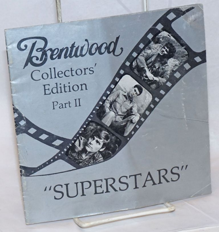 Brentwood Collectors' Edition Part II: Superstars [trade catalogue]