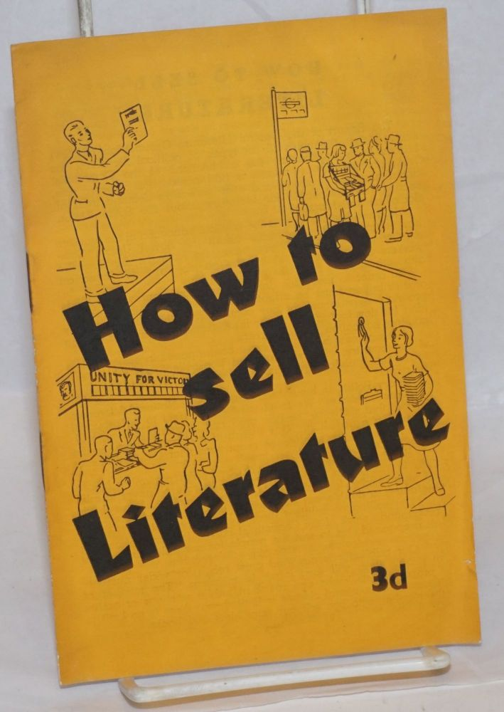 How to Sell Literature