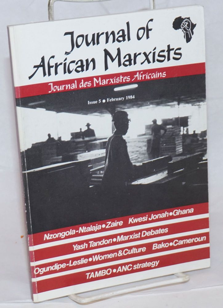 Journal of African Marxists. Issue 5 (Feb. 1984)