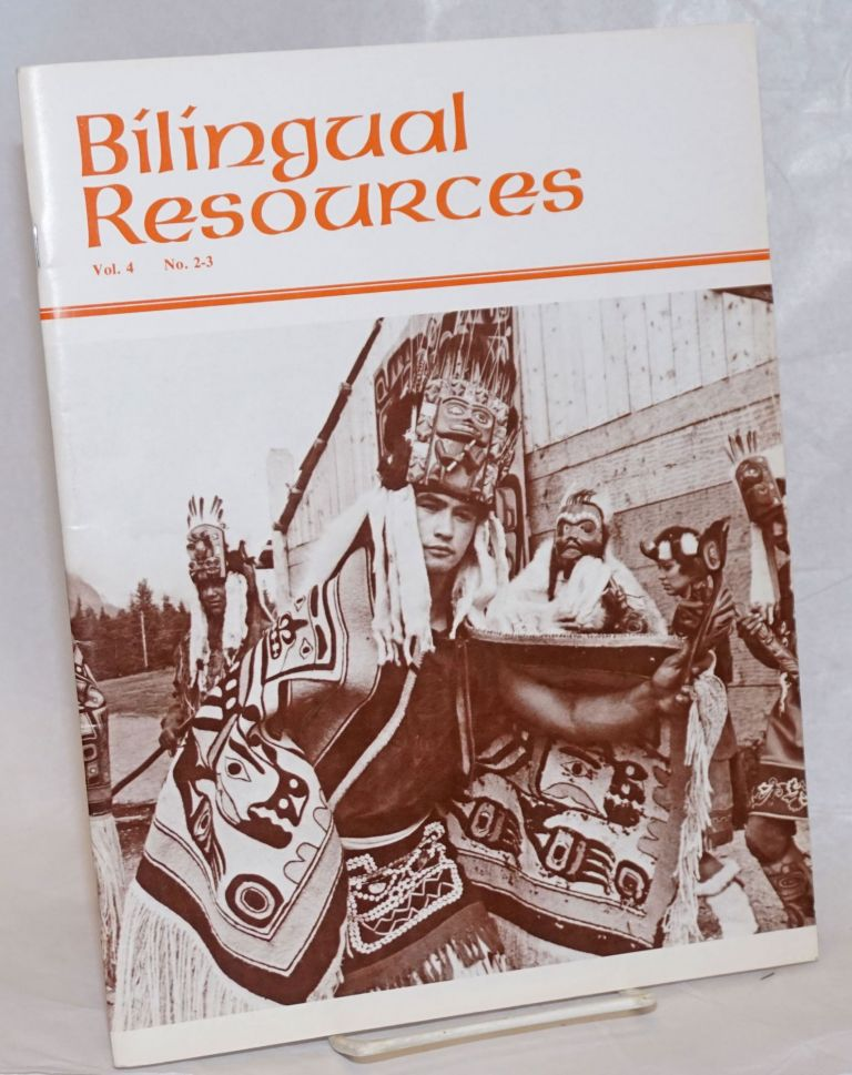 Bilingual Resources. Vol. 4 no. 2-3