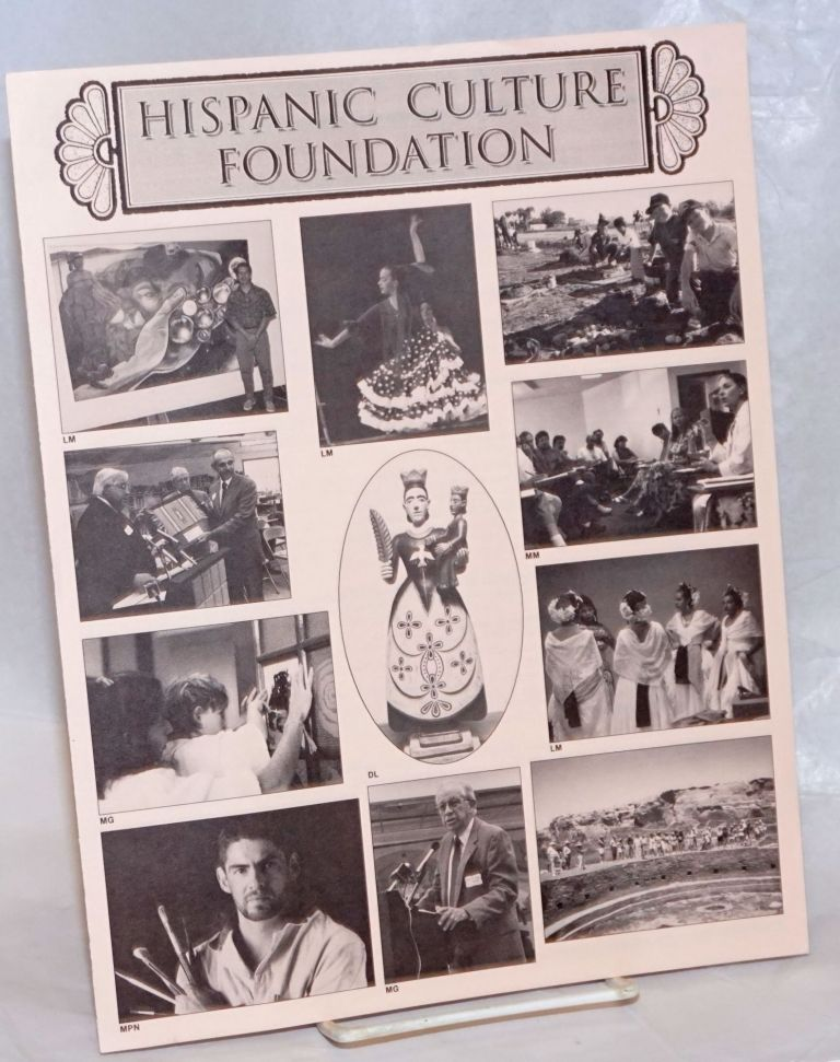 Hispanic Cultural Foundation [brochure