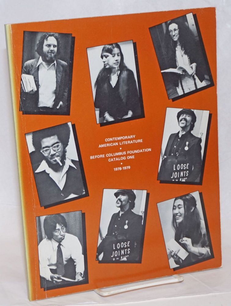 Contemporary American literature: Catalog one. 1978-1979. Before Columbus Foundation.