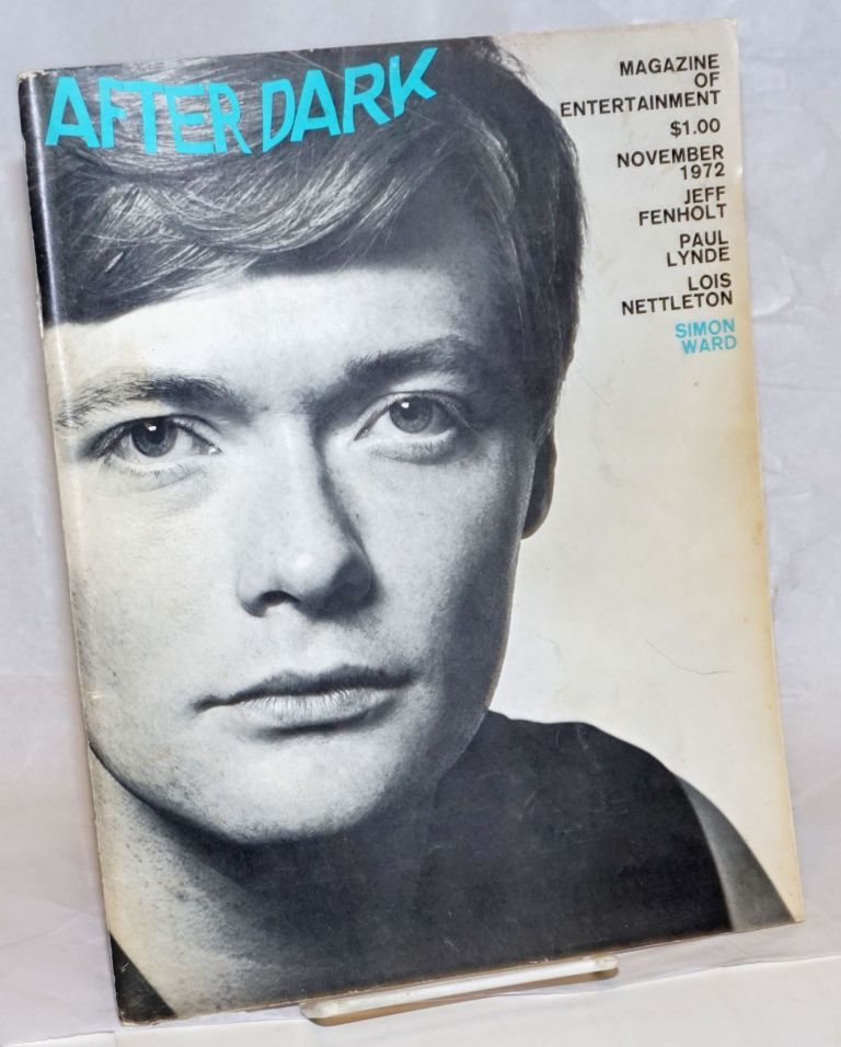 After Dark: magazine of entertainment vol. 5, #7, November 1972: David Bowie. William Como, Siegfried, Simon Ward Roy, Viola Hegyi Swisher, Paul Lynde.