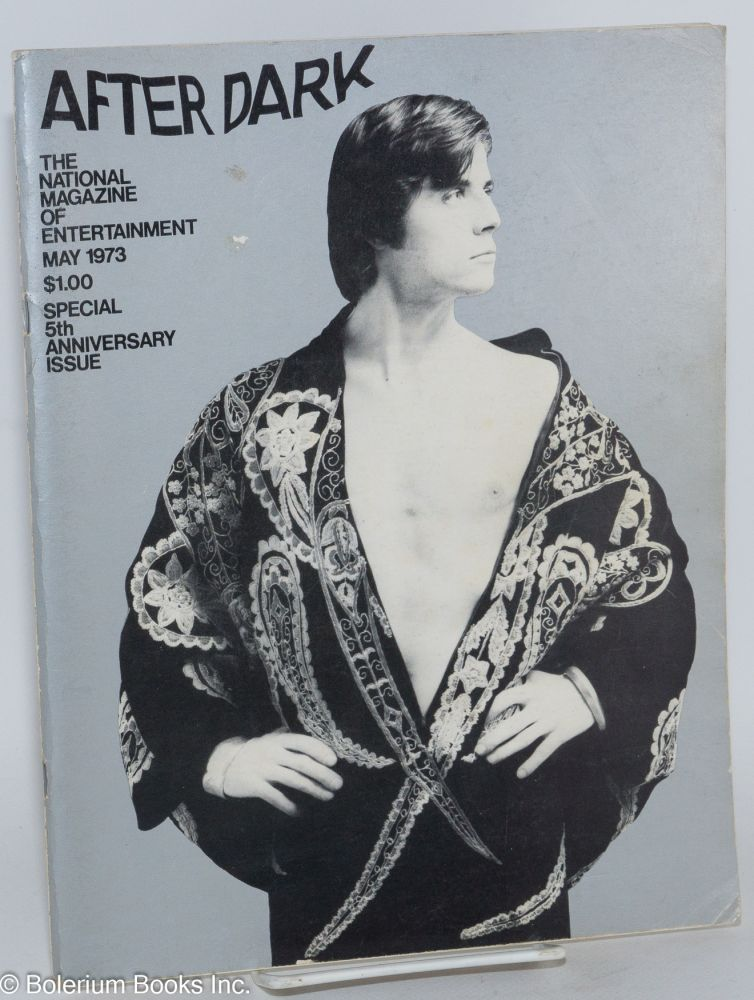 After Dark: the national magazine of entertainment vol. 6, #1, May 1973; Special 5th Anniversary Issue. William Como, Gary Glitter Christopher Walken, Truman Capote.