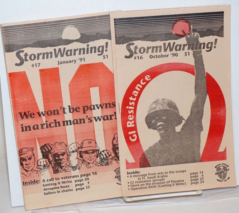 Storm warning! (nos. 16 and 17)