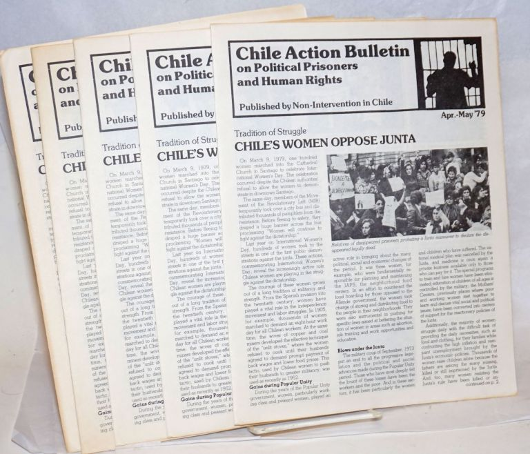 Chile action bulletin on political prisoners and human rights (April-May 1979)